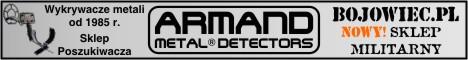 Armand - Wykrywacze metali